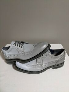Cole Haan Cooper Square Wingtip Reflective 3M C11142 Rare Flashy dress Shoes