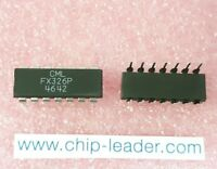 1X CML FX326P , IC, Switched Capacitor Filter, Pin Programmable, CMOS, PDIP-14