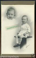 "Antique Photo - 5"" x 7"" - Double View - 2 Cute Children - Boy & Girl ?"