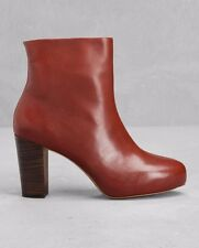 & OTHER STORIES SHOES LAMBSKIN LEATHER BOOTIES HIDDEN PLATFORM ANKLE BOOTS 40