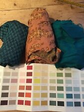 VINTAGE BUNDLE / LOT OF SILK / RAYON DRESSES - GREAT FOR QUILTS AND CRAFTS