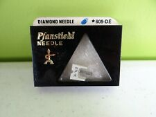 Pfanstiehl 609-DE Diamond Needle PICKERING DTL1 TL-1 PLUG IN CART GENUINE NOS