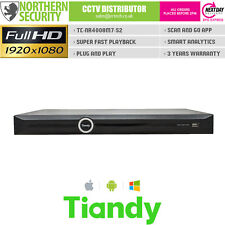 TIANDY 8 CHANNEL FULL HD 1080P 2MP VCA P2P ONVIF NVR 8CH IP CCTV VIDEO RECORDER