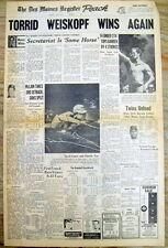 1973 newspaper SECRETARIAT WINS Horse Racing s TRIPLE CROWN  + Tom Weiskopf GOLF