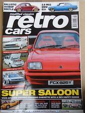 Retro Cars Feb 2016 issue 92 Fiesta MKI, 400bhp Beetle, BMW E21 2.8