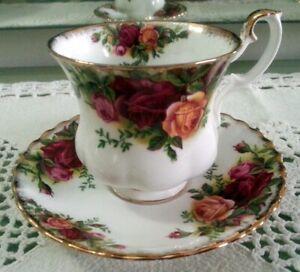 Royal Albert Old Country Roses tazza caffè in porcellana inglese