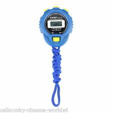 KD-6128 Chronograph Digital Timer Stopwatch Sport Counter Odometer Watch SU