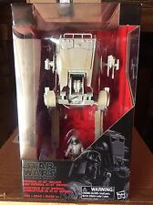 Star Wars BLACK series Imperial AT-ST Walker and Driver Walmart Exclusive *NEW