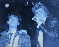 GEORGE MICHAEL PHOTO 1984 UNRELEASED UNIQUE WHAM IMAGE EXCLUSIVE HUGE GEM RARE