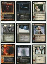Lord Of The Rings CCG TCG Complete 18 Card Countdown Promo Collection 0P30-47