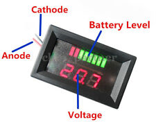 12V ACID Lead Battery Capacity Indicator Power LED Tester Digital Voltmeter