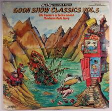 GOON SHOW: Classics, Vol. 5 LP Sealed (ES, sm corner bends) Comedy