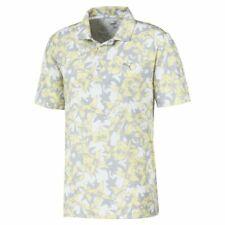 Puma Golf 2020 Masters TWELVE Polo Shirt COLOR: Yellow Iris SIZE: X Large (XL)