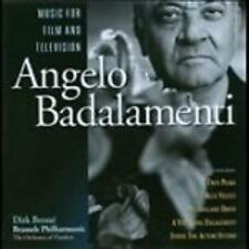 Angelo Badalamenti: Music For Film & Television w/ Artwork MUSIC CD tv scores