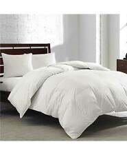Royal Luxe White Goose Feather & Down 240 Tc Twin Comforter White $120