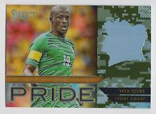 YAYA TOURE 2015 Panini Select National Pride Camo Prizm #/249 #46 Ivory Coast