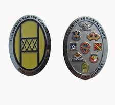 US Army National Guard 30th Armored Brigade Combat Team Challenge Coin