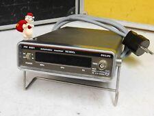 Philips PM 6661, kompakter + vollautomatischer Frequenzzähler