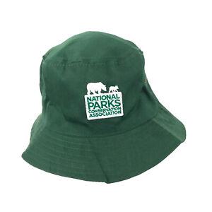 National Parks Conservation Association bucket sun hat cap green hbv0