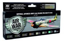 AV Vallejo - Imperial Japanese Army (IJA) Pre-War to 1945 Model Air Paint Set #