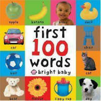 First 100 Words (Bright Baby First 100) by Roger Priddy, NEW Book, FREE & Fast D