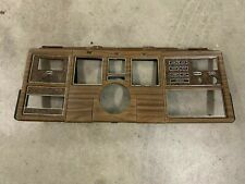 1974 LINCOLN MARK IV WOODGRAIN DASH PANEL CLUSTER FACE D6LY-65045-C USED
