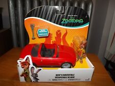 FROM THE MOVIE ZOOTOPIA, NICK'S CONVERTIBLE WITH PARKING METER AND NICK FIG NIP
