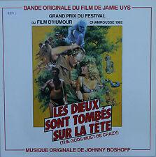 """Vinyle 33T Johnny Boshoff  """"Les dieux sont tombés sur la tête"""""""