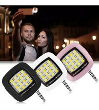 USB Selfie Flash Light 3.5mm Jack Selfie Mini 16 LED 3.5mm Selfie Cam Light