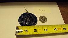 Africa masai art earring jewelry 712a Round seed bead Beaded Earrings Kenya