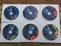 6 CDG DISCS DEC 2009 KARAOKE KURRENTS DELUXE MUSIC POP R&B CD+G *2019 SALE*