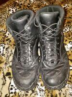 Vintage Oakley Men's Black Leather SI Assault Tactical Hiking Boots Sz 10