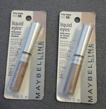 MAYBELLINE Liquid Eyes PETAL POWER # 55 Long Wear Eyeshadow SET OF 2