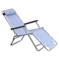 1/6 Folding Beach Chair for ZY Toys for 12'' Action Figures Hot Toys Blue