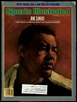 SI: Sports Illustrated September 16, 1985 Joe Louis, Boxing, VERY GOOD