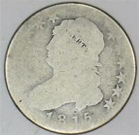 1815 Capped Bust Quarter; AG; Very Pleasing!