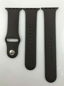 Original Apple Watch Series 6 SE 5 4 3 2 1 Sport Band 42mm 44mm Silver Pin Cocoa