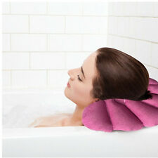 Bathroom Inflatable Bath Spa Pillow Head Back Neck Cushion Bathtub Rest