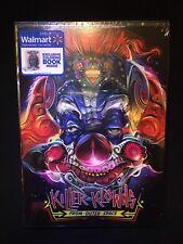 Artist Orlando Arocena Walmart Dvd KILLER KLOWNS FROM OUTER SPACE Coloring Book
