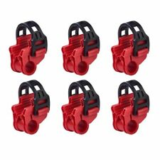 Bicycle Rack 6pcs Spare Hook Plastic Hitch Mount Carrier Car Bike Accessories