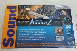SoundBlaster Audigy2 ZS NEW Factory Sealed Model SB0350