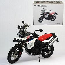 AUTOart 1:10 BMW F800GS motorcycle model 30 Anniversary Edition