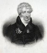 Naturaliste Georges Léopold chrétien Frédéric picsou Baron de Cuvier portrait