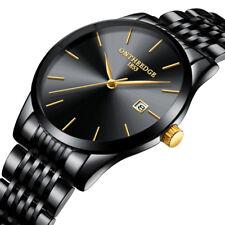 Casual Cool Men's Quartz Wrist Watch Mesh Strap 6MM Ultra-thin Ultra Men's Watch