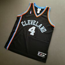 100% Authentic Shawn Kemp Starter Cavaliers Jersey Size 44 L Mens