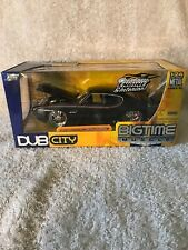2005 Jada Toys Dub City Bigtime Muscle Black 1969 Pontiac GTO Judge NIB. VHTF!