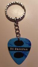 Ed Sheeran guitar pick keychain / keyring