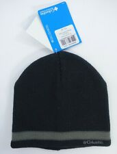 Men Columbia Beanie Hat Spring Butte One Size Black