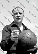 Retro Poster Reprint Wall Art of Legendary Bill Shankly, Liverpool FC Manager A4