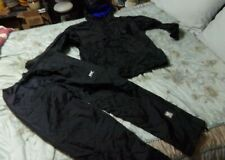HH Helly Hansen Snow Set Mens Jacket Pants Packable Black Size XL Waterproof
